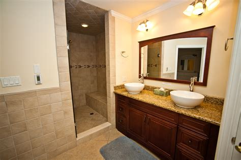 master bathroom shower designs incredible master bath with heated floors 2 vessel sinks