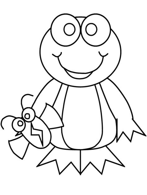 cartoon frog coloring pages coloring home