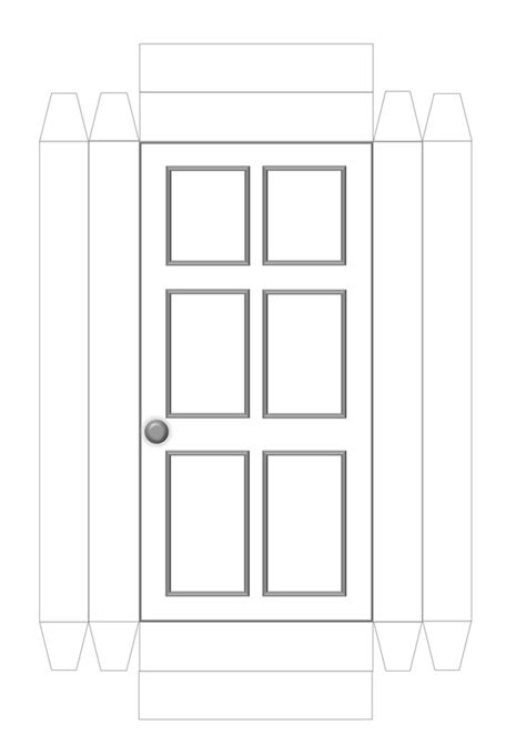 front door template doors craft n home