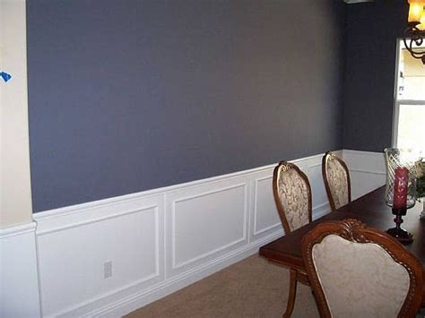 how to put up chair rail molding with pictures ehow