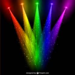 colored lighting colored spotlights vector vector free
