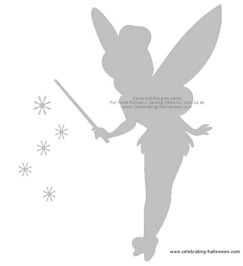 tinkerbell pumpkin template http www celebrating wp content uploads