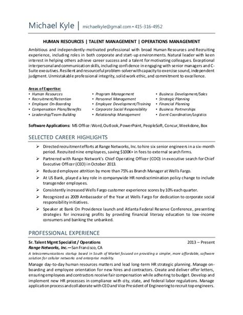 sle talent resume cover letter business development executive cover letter