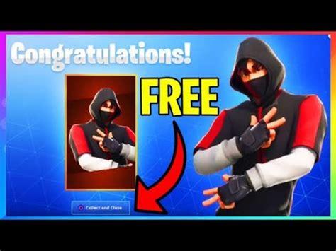 fortnite unlock  ikonik skin   console season  skin  youtube