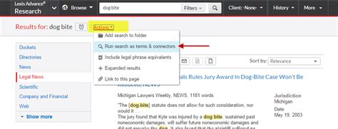 Lexisnexis Search Tuesday Tips Why The Difference In Search Results Between