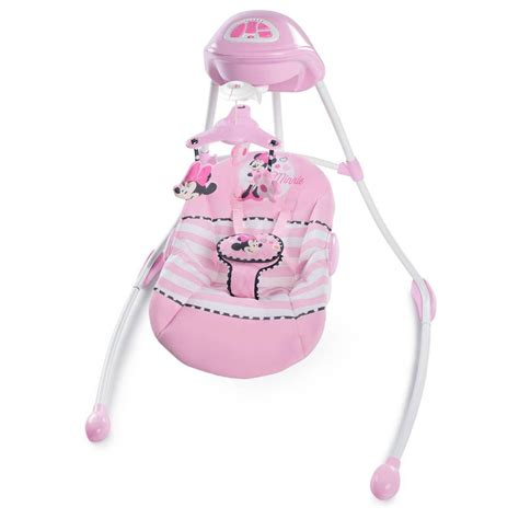 minnie mouse baby swing disney baby minnie mouse size swing ebay