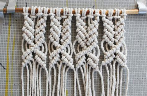 Macrame Knot Tutorial - 17 best ideas about macrame wall hanging patterns on