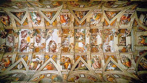 Fresque Plafond Chapelle Sixtine by Michel Ange 224 Rome Fresques De La Sixtine Aparences