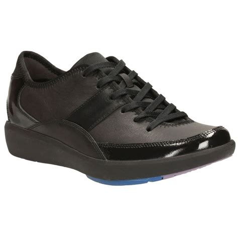 sports shoes womens clarks wave flare womens sports shoes clarks from