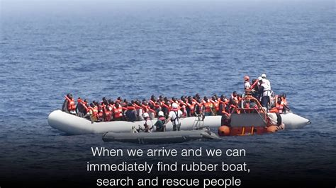 sos boat aquarius sos mediterranee bbc news youtube
