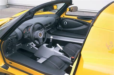 lotus elise inside lotus elise 171 mk2 187 une voiture minimale qui en donne un