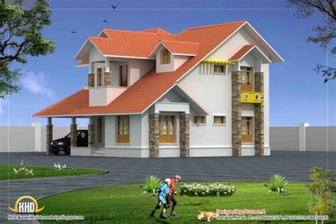february 2012 kerala home design and floor plans incredible nice sloped roof kerala home design indian