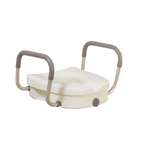 toilet seat with arms raised toilet seat with removable padded arms orbit