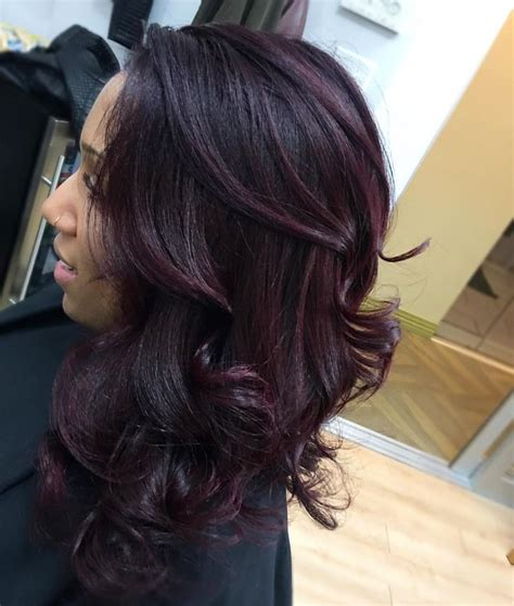 eggplant color hair best 25 eggplant hair ideas on violet
