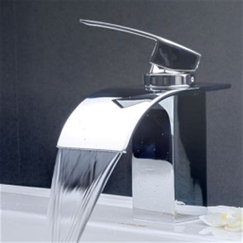 Deck Mounted Bath Shower Mixer arian iris waterfall bathroom basin mixer tap