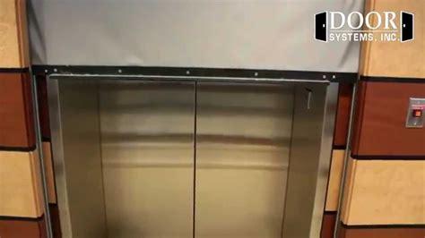 elevator curtains dsi 600 elevator smoke curtain youtube