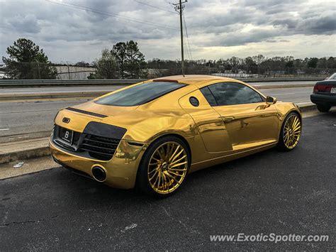 Audi Atlanta audi r8 spotted in atlanta on 03 12 2016 photo 2