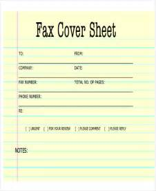 Generic Fax Cover Letter by Sle Fax Cover Letter In Pdf 8 Exles In Pdf