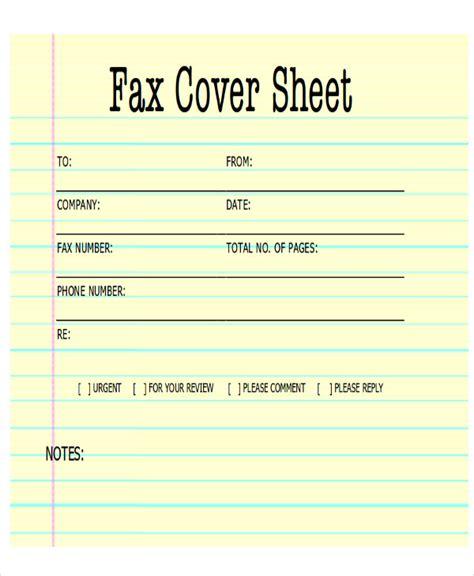 sle fax cover letter in pdf 8 exles in pdf