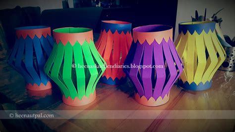 Handmade Lanterns Diwali - heena s kitchen diaries diwali kandil s
