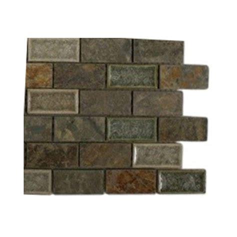 splashback tile selection emperial slate 3 in x 6