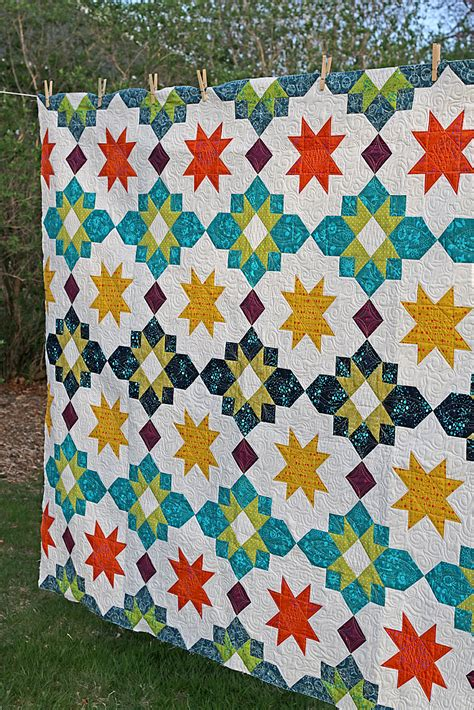 design quilt free moroccan lanterns quilt freshly pieced