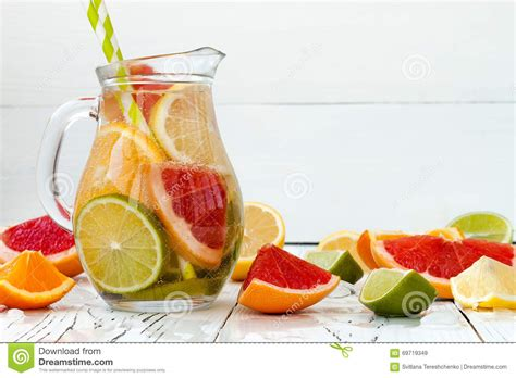 Orange Lemon Grapefruit Detox by Detox Citrus Infused Flavored Water Refreshing Summer