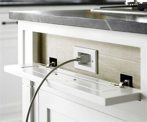 kitchen island electrical outlet best 25 kitchen outlets ideas on electrical