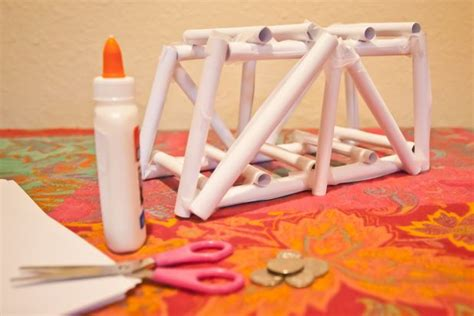 How To Make A Paper Bridge That Is Strong - strong paper bridge designs