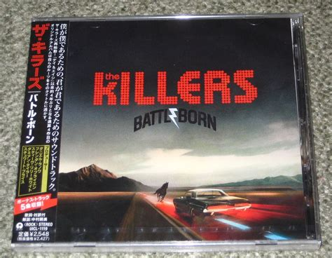 Cd The Killers Battle Born Imported killers battle born records vinyl and cds to find and out of print