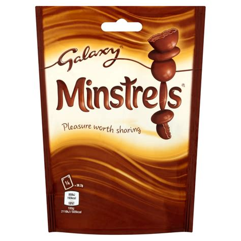 Galaxy Minstrels 153g   Sharing Bags & Tubs   Chocolate & Sweets   Food Cupboard   Iceland Groceries