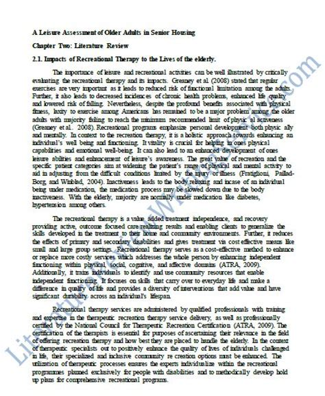 how to write a review paper the best literature review paper literature review