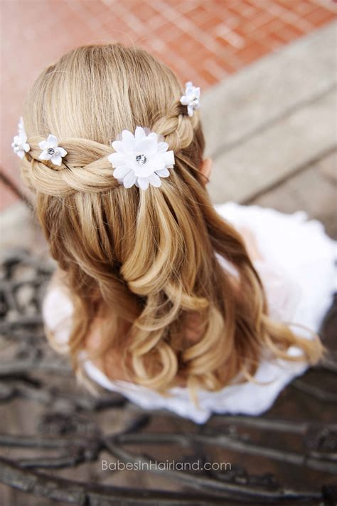 how to wear your hair for baptism with curly hair the dress from white elegance babes in hairland