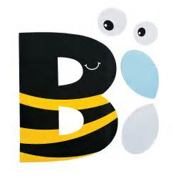 b is for bumblebee letter b craft kit trading