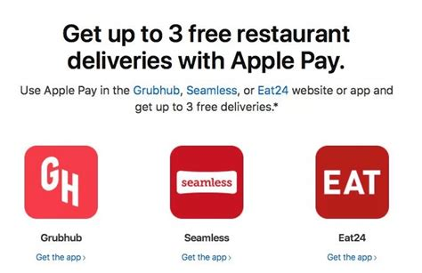 expired apple pay free delivery at grubhub seamless