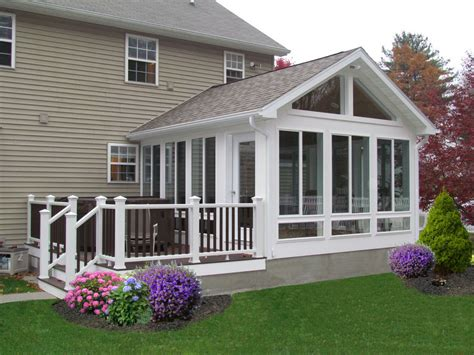 Four Season Sun Porch Sunroom On Sunroom Addition Sunrooms And Four