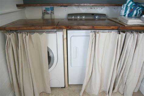 how to hide washer and dryer house tweaking