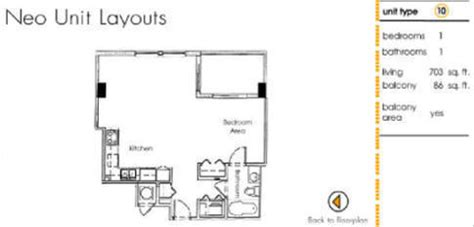 Neo Lofts Floor Plans by Neo Lofts Condo Floor Plans