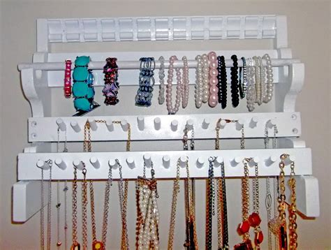 Diy The Door Jewelry Organizer by Wall Mounted Jewelry Organizer Diy Home Design Ideas