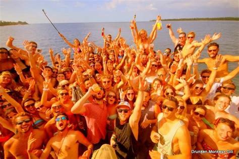 round boat party free shot rounds picture of jiggy boat party gili