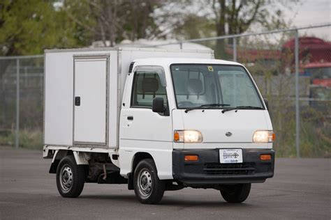subaru sambar truck engine 1997 subaru sambar box 4wd mini kei truck right drive