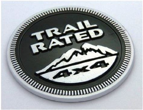 Jeep Trail Badge Replacement Jeep Trail 4x4 Nameplate Emblem Wrangler Grand