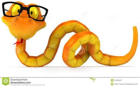 with glasses snake with glasses stock illustration illustration of venomous 14915543