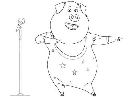 printable coloring pages cing sing movie coloring pages to download and print for free