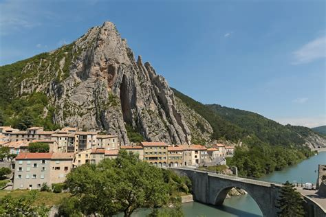 Elevation of Sisteron, France MAPLOGS