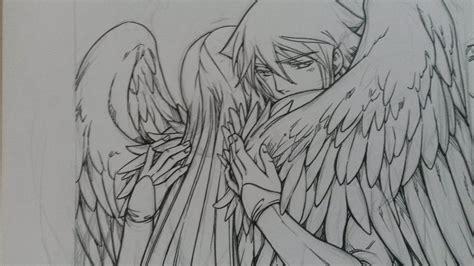 imagenes de angeles y demonios para dibujar a lapiz m 225 s de 1000 im 225 genes sobre dibujos en pinterest