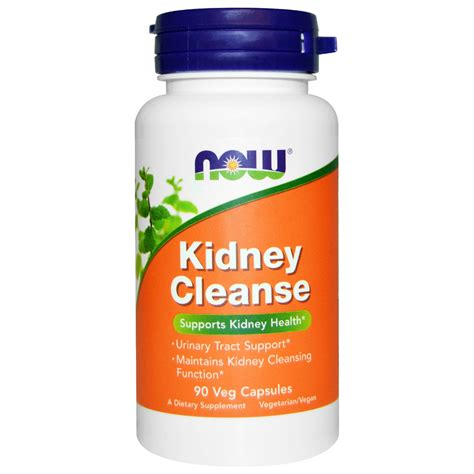 Kidney Detox by Now Foods Kidney Cleanse 90 Veggie Caps Iherb
