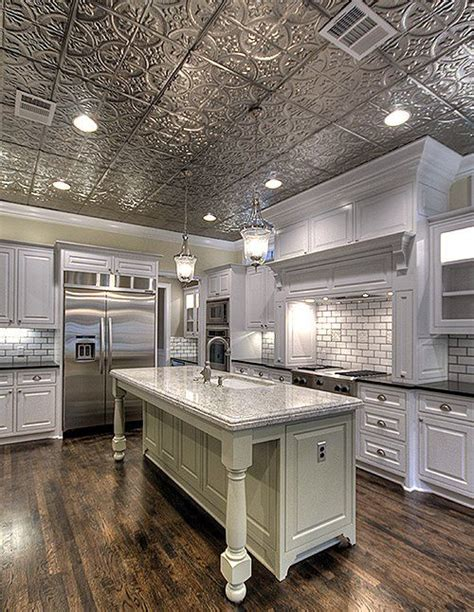 kitchen ceiling ideas 25 best ideas about tin ceilings on rustic