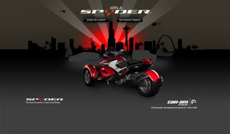 Can Am Giveaway - brp can am win a can am spyder roadster sweepstakes