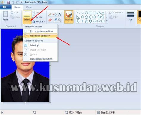 cara edit foto warna soft di photoshop cara ganti background foto dengan paint kusnendar